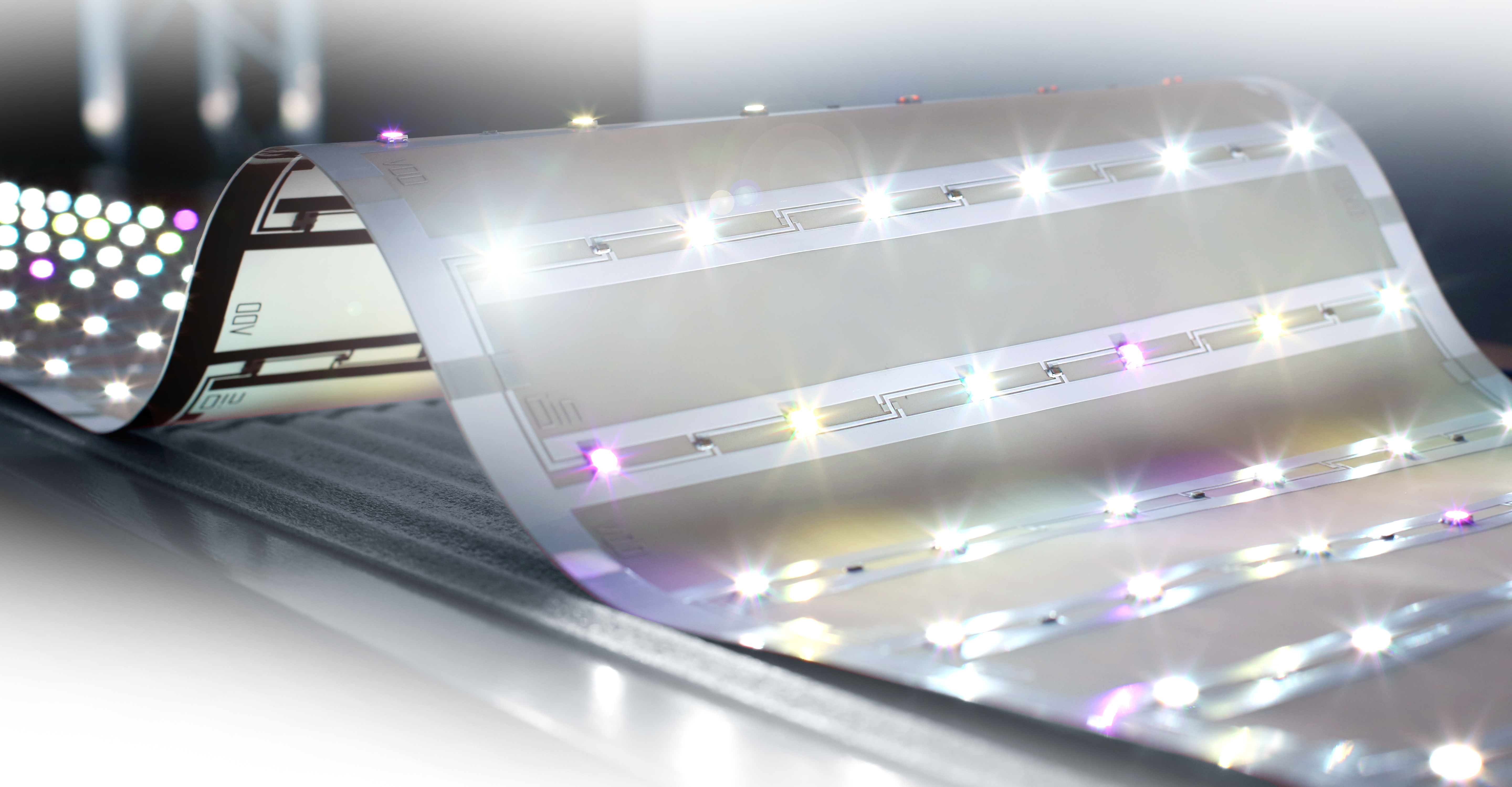 LEDs Go Flexible
