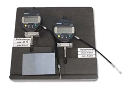 Card measuring station