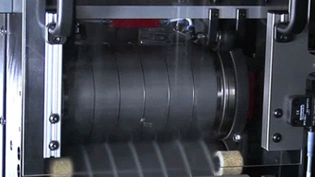 Singulation of solar cells with punch/die-cut tool